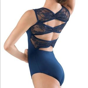 Dancewear Solutions Girls Navy Leotard